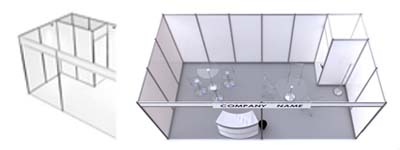 Exhibition Booth Rental Services