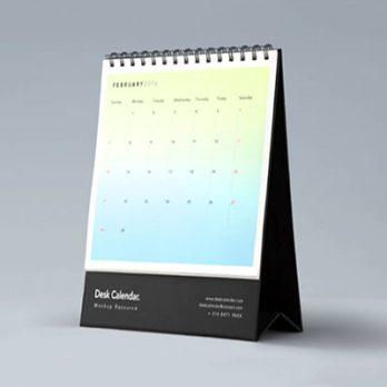 Custom Desk Calendar Printing in Johor Bahru