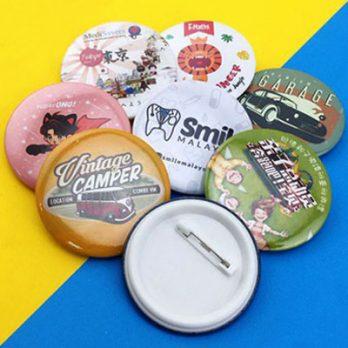 Custom Button Badge Printing in Malaysia