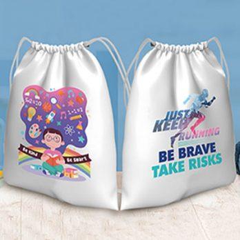Drawstring Bag Printing for Advertising