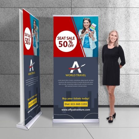 Get Best Exhibition Pull Up Banners at GogoAds, Malaysia