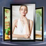 2-johor bahru-singapore-quality-aluminium-LED poster frame-sharp corners
