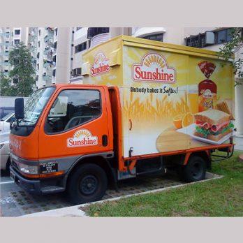 Custom Vehicle Vinyl Sticker in Malaysia