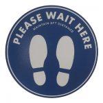 3-johor bahru-singapore-cheap-inkjet print-floor sticker-safe distance