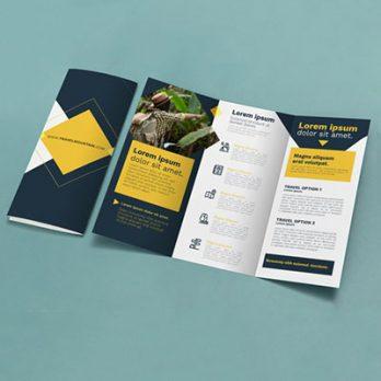 A4 Folded Flyer Printing - GogoAds,