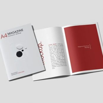 Soft Cover Saddle Stitch Booklet Binding, Malaysia