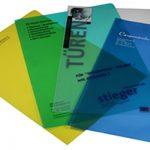 L Shaped Plastic Folder Printing in Johor Bahru