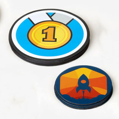 Round Magnet Sticker Printing in Malaysia