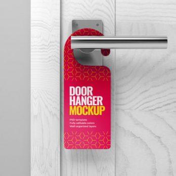 Glossy Door Hanger Advertising, Malaysia