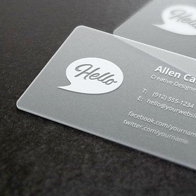 Plastic Name Card Printing in Malaysia