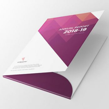 Glossy Folder Printing Services in Malaysia