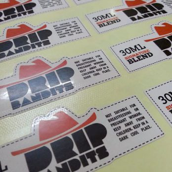 Print in All Label Sticker Shapes from GogoAds