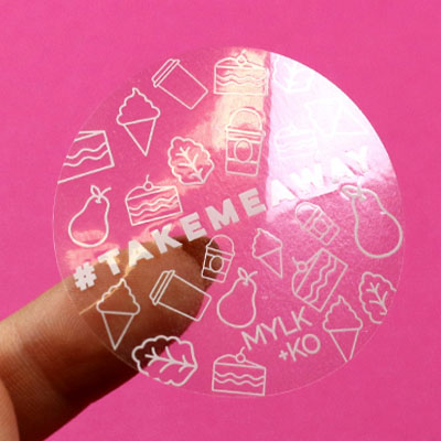 Custom Print on Transparent Stickers Online in Malaysia