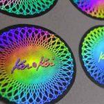 johor bahru-singapore-round-hologram sticker-sheet