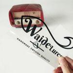 johor bahru-square-clear transparent opp label sticker