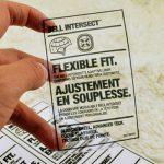 johor bahru-square-clear transparent opp label sticker-sheet